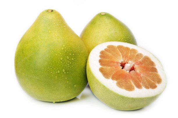 柚子水平画幅绿色