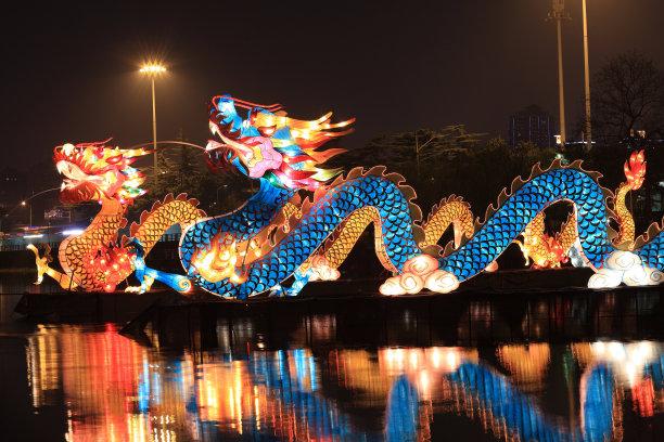 龙中国灯笼灯笼