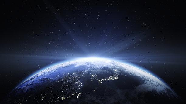 太空地球光效