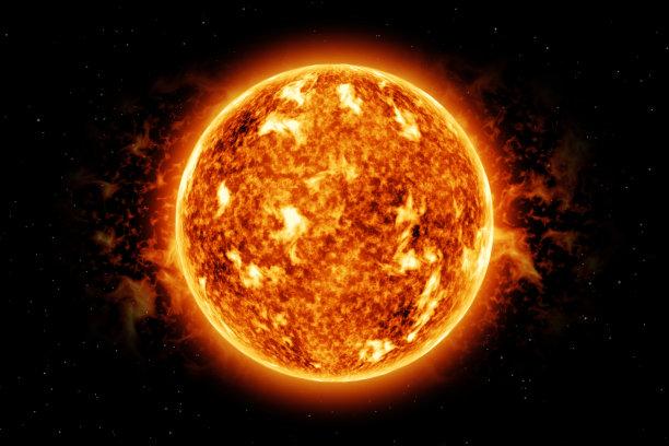 太阳耀斑氢