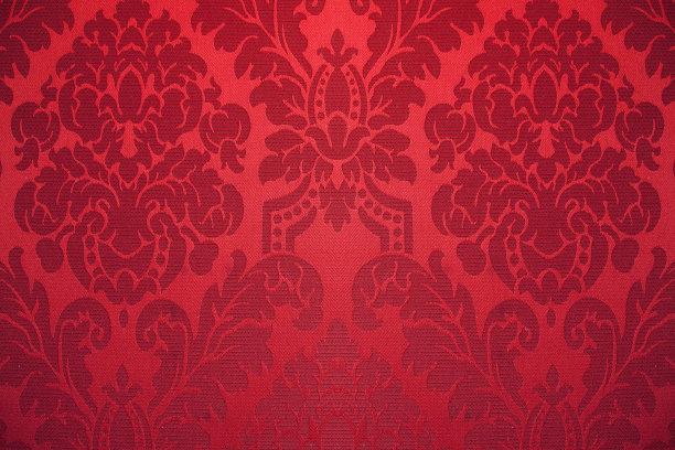 红色壁纸丝绸