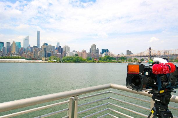电视摄像机纽约图片