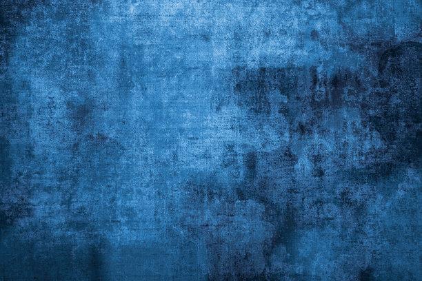 蓝黑色水墨纹理