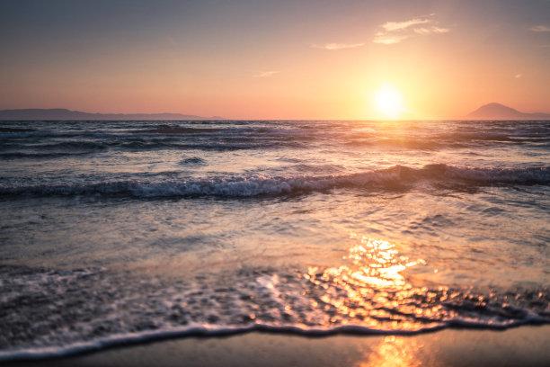 海洋,海滩度假,水