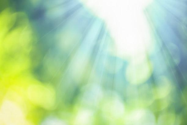 自然光照片的虚幻照片