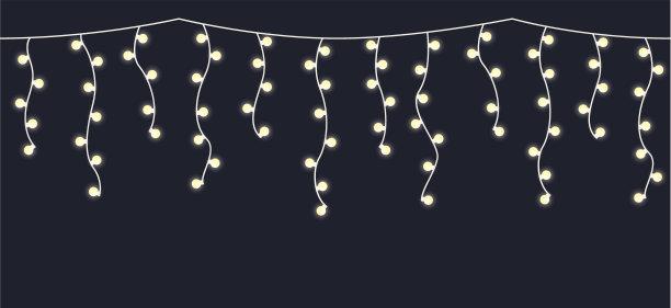 冰柱圣诞小彩灯圣诞装饰物