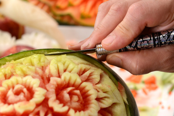 食品雕刻泰国西瓜
