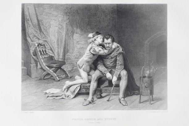 威廉莎士比亚约翰王亚瑟王子