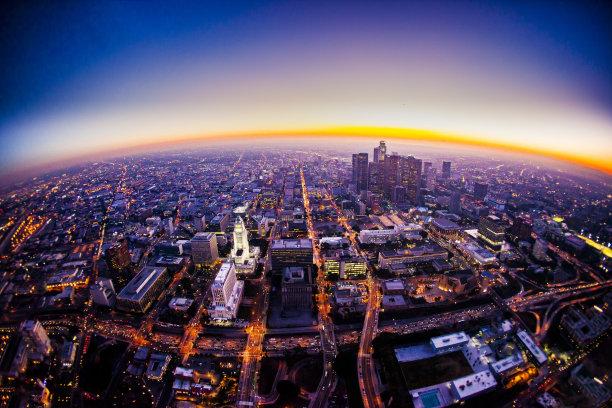 洛杉矶航拍视角