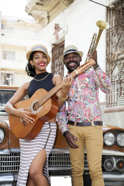 户外哈瓦那古巴人