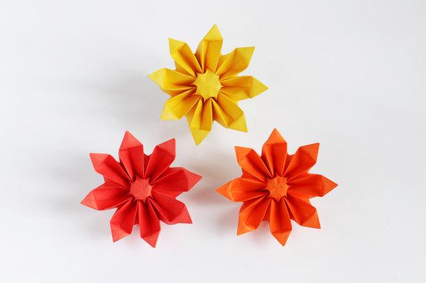 折纸工艺向日葵工艺品