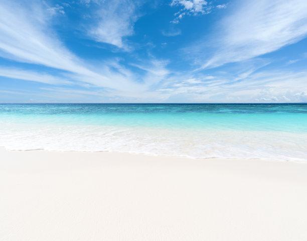 夏季海滩风景