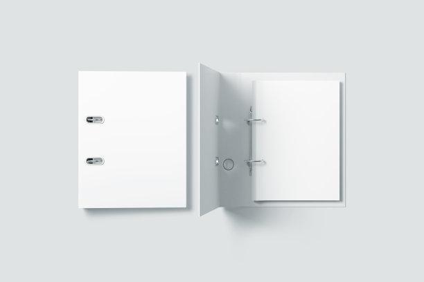空白活页画册样机
