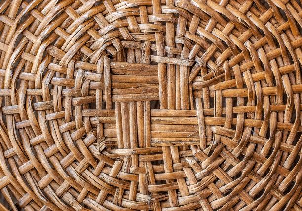 篮子乡村风格圆形