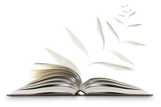 创意书籍书页合成