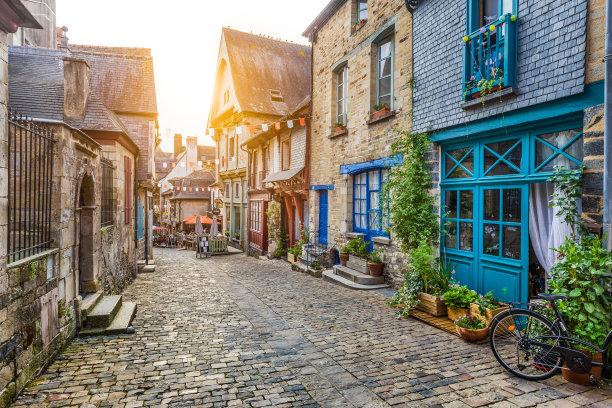 欧洲街道图片