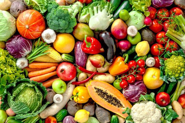 蔬菜水果背景