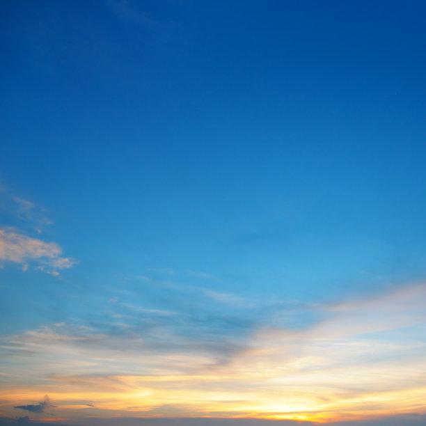 云,天空,夜晚