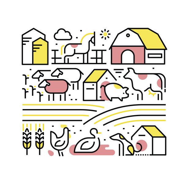 牲畜家畜图片