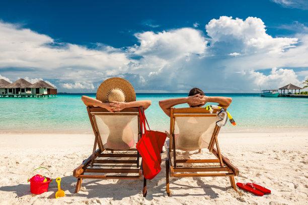 马尔代夫度假海滩