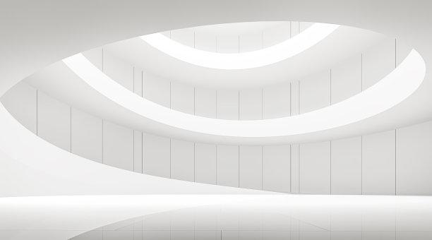 螺线现代建筑