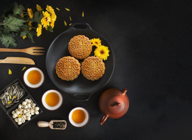 传统节日饮食秋天