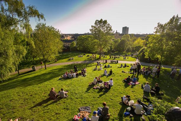 瑞典斯德哥尔摩公园
