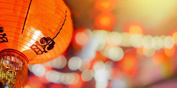 灯笼春节传统
