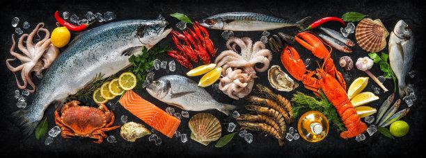 生鲜海产摄影