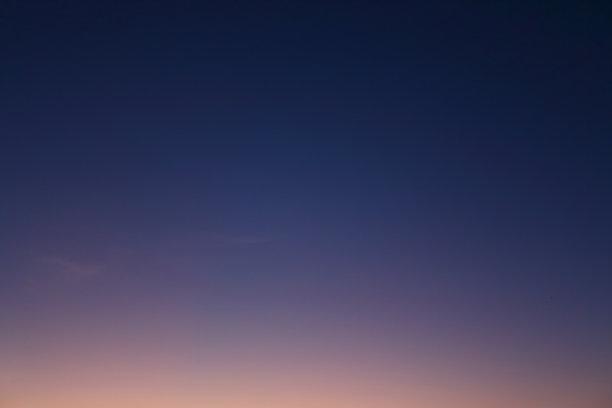 天空曙暮光渐变背景