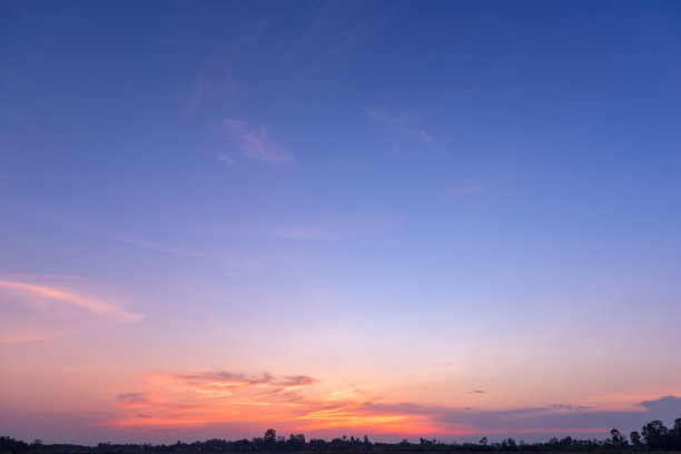 美丽的天空