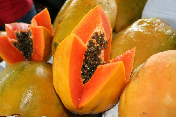 木瓜早餐水平画幅