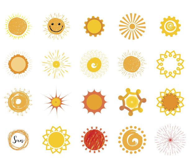 日光夏天标签