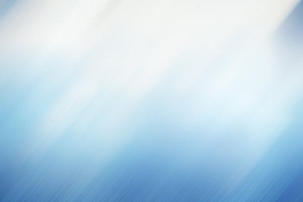 淡蓝色柔光背景