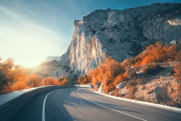 山路沥青公路