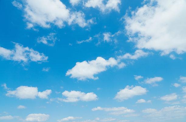 晴朗天空云景