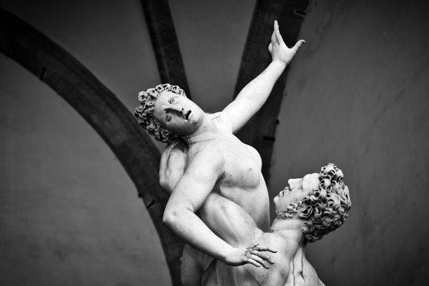 远古的雕塑佛罗伦萨