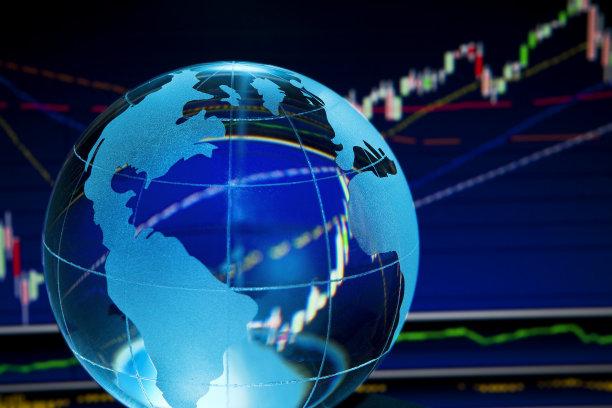 全球财政股市数据图片