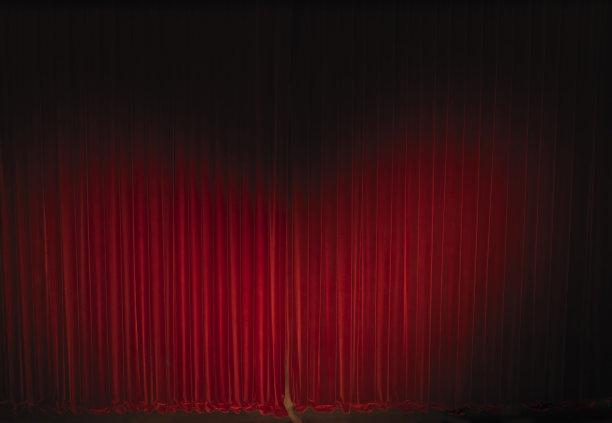 天鹅绒窗帘剧院