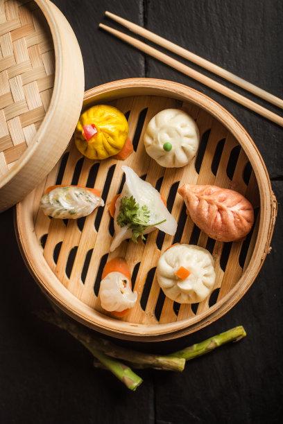 点心饺子食品