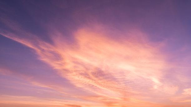 天空,色彩鲜艳,水平画幅