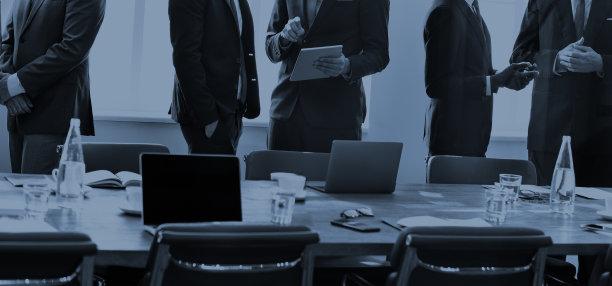 会议商务人士图片