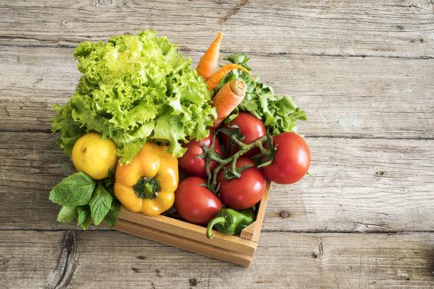 篮子蔬菜图片