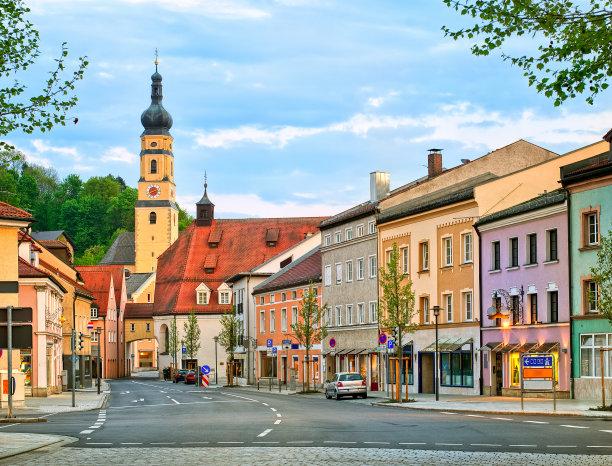 城镇德国图片
