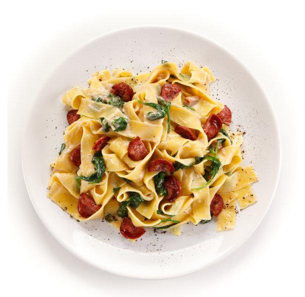 意大利面菠菜图片