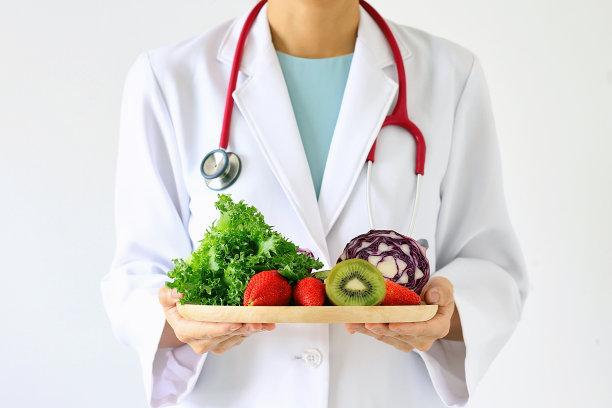 绿色健康食物