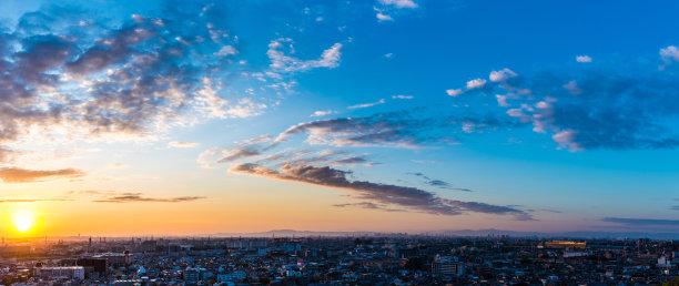 日本都市风光宝冢市