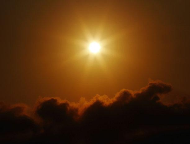 日光,水平画幅,夜晚