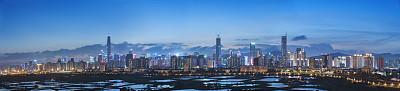 城市天际线深圳广东省