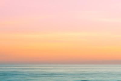 黄昏海平面